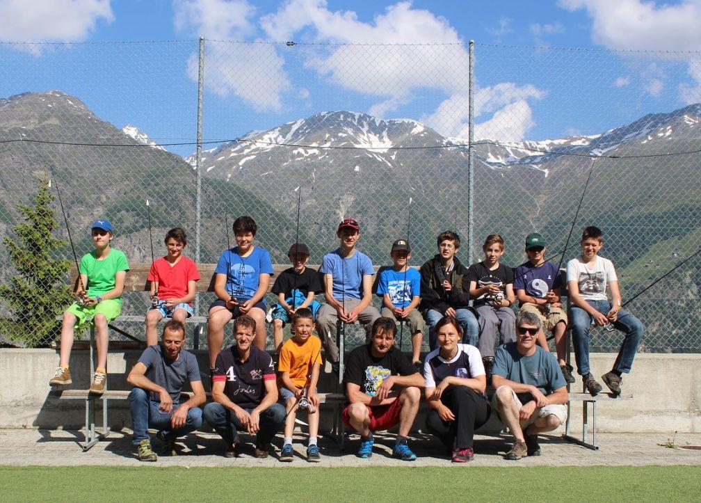 Trainingslager der jungen Talente in Grächen VS