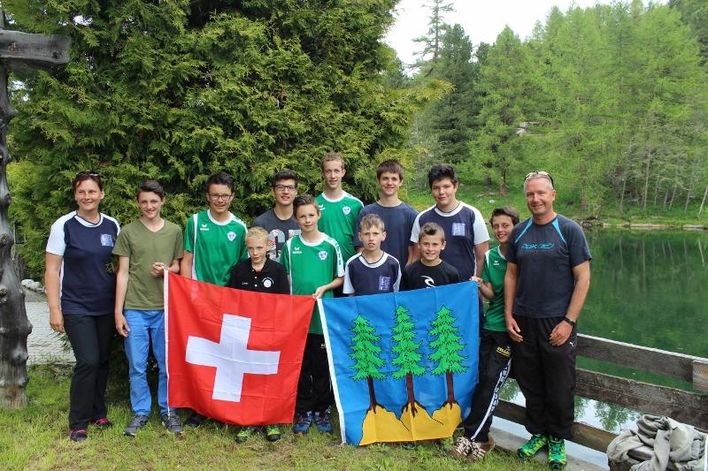 Trainingslager der jungen Talente in Gr�chen VS