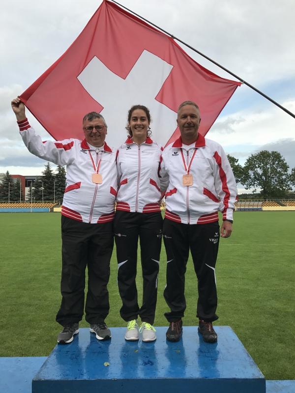 Drei WM Medaillen für die Schweiz!