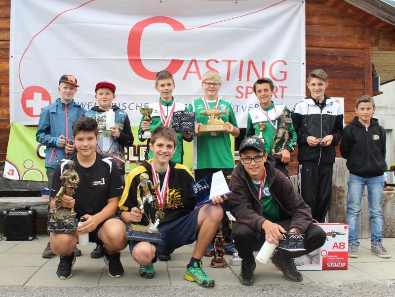 Finale der Cast-on Swiss Tour 2016 in Visp VS